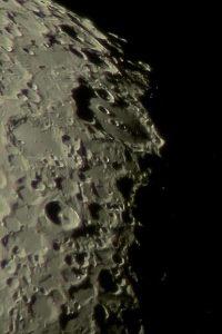 Moon Tycho Clavius Area