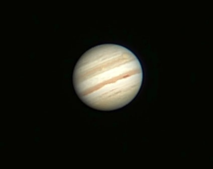 Jupiter is the fifth and largest planet in our solar system. It is a gas giant which is primarily composed of hydrogen and helium (very similar to our sun). Jupiter may also have a rocky core of heavier elements.