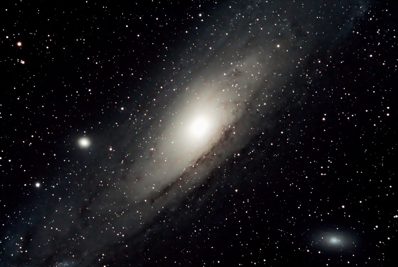 andromeda galaxy from earth telescope - photo #16