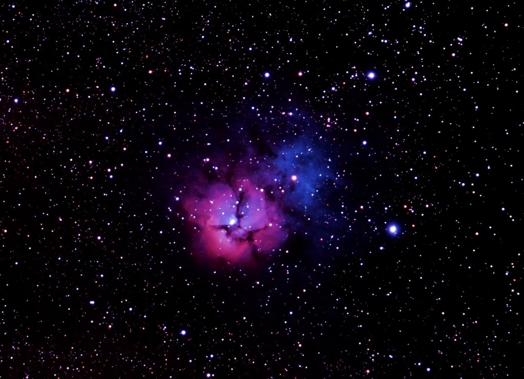 Astrophoto Gallery M20 - Trifid Nebula – Astronomy Source