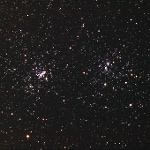 The Double Cluster (NGC 869 & NGC884), Image credit: Wolf Damm