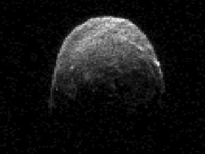 2005-YU55, a C-type asteroid. Credit NASA
