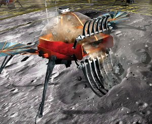 Could this be the future of asteroid mining? Credit Kevin Hand for Popular Science, 2012