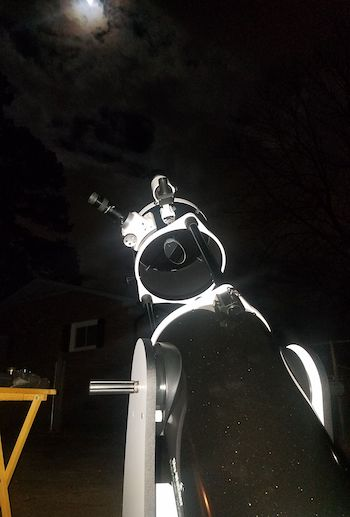 Watching sky with Skywatcher 10