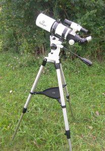 Gskyer 80 AZ refractor telescope